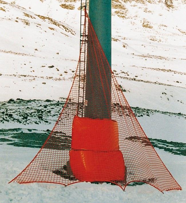 Skipisten-Dreiecksnetz - Hindernisschutz | Schutznetze24
