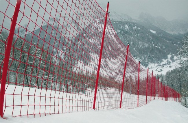 Ski Piste Safety Net S1 by the m² (Made to Measure) | Safetynet365