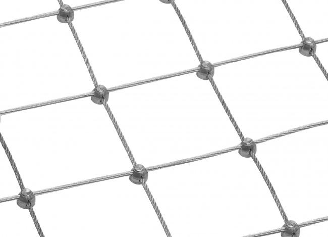 Stahldrahtnetz nach Maß mit 6,0 mm Materialstärke