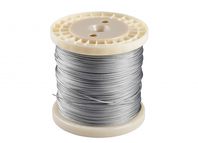 Steel Cable 2 mm - Fixed-Length Coil (200 m) | Safetynet365