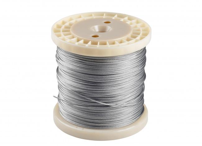 Stahldrahtseil, 2 mm stark | Schutznetze24