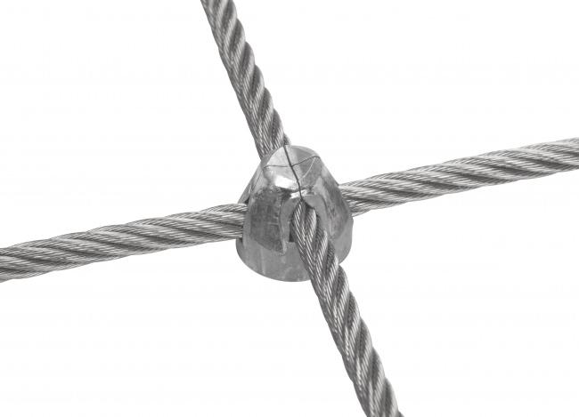Stahldrahtseilnetz mit 8,0 mm Materialstärke