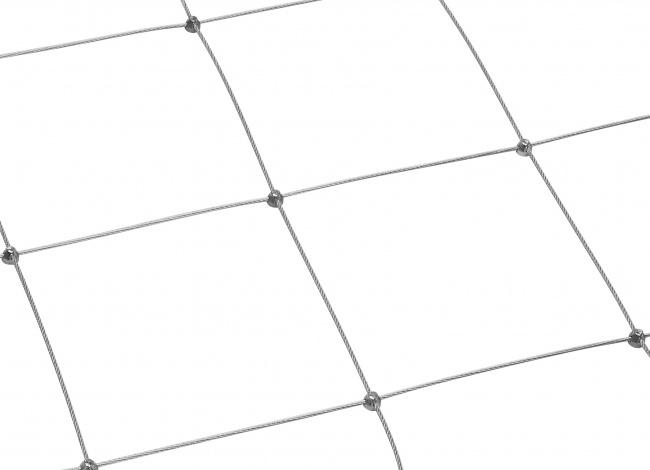 Stahlnetz mit 3,0 mm Materialstärke | schutznetze24.de