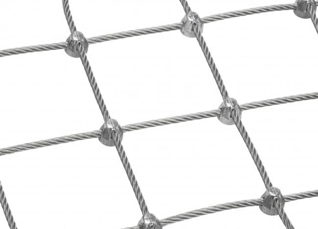 Stahlnetz nach Maß mit 6,0 mm Materialstärke