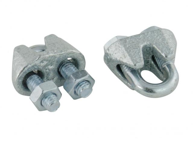 Stahlseilklemmen 3 mm (50 Stück) | Schutznetze24