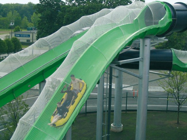 Waterslide Safety Net by the m² (Custom-Made) | Safetynet365