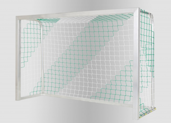 Indoor Soccer Goal Net With Club Colors | Safetynet365
