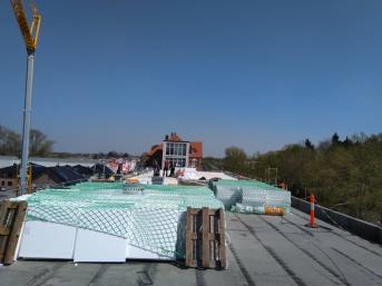 Auffangnetz 5,00 x 10,00 m (rhombische Maschenstellung) | Schutznetze24