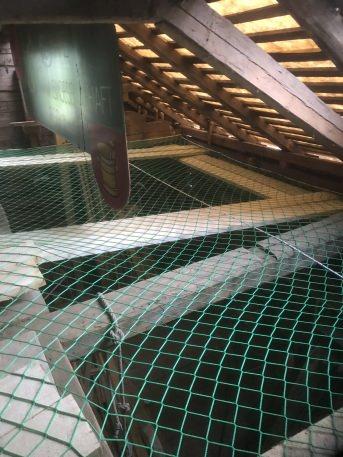 Auffangnetz 10,00 x 10,00 m (rhombische Maschenstellung) | Schutznetze24
