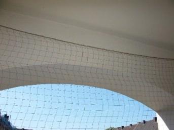 Taubenschutznetz per m² (nach Maß) | Schutznetze24