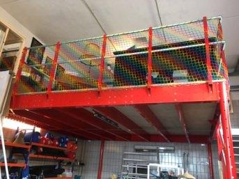 Hochbett-Sicherheitsnetz per m² (nach Maß) | Schutznetze24