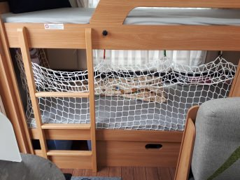 Hochbett-Schutznetz per m² (nach Maß) | Schutznetze24