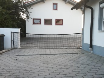 Netz für Hofeinfahrten - Meterware | Schutznetze24