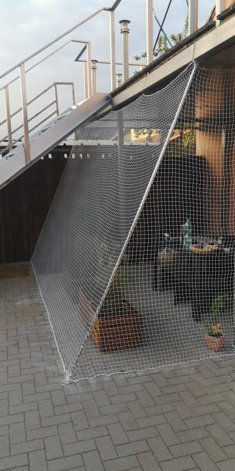 Katzennetz per m² (nach Maß) | Schutznetze24