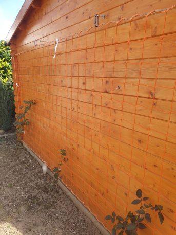 Schutznetz per m² (nach Maß) 2,8/120 mm, orange | Schutznetze24
