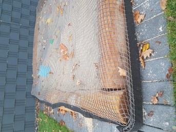 Bleischnurbeschwerung im Gurtband | Schutznetze24
