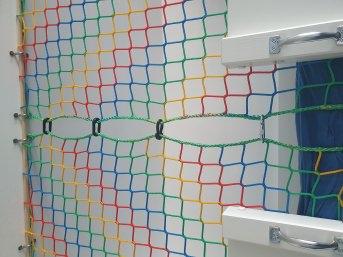 Buntes Schutznetz nach Maß (per m²) | Schutznetze24