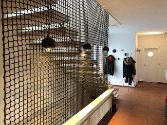 Sicherheitsnetz für Treppen/Treppenhäuser per m² | Schutznetze24