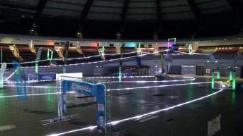 Drohnennnetz für Drohnen-Arena und Drohnen-Rennen | Schutznetze24