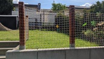 Spielbereich-Sicherheitsnetz per m² (nach Maß) | Schutznetze24