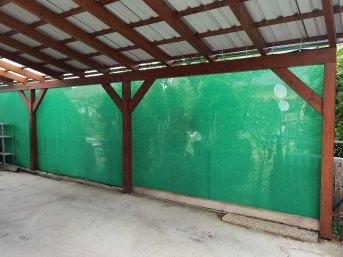Luftdurchlässiges Gewebe per m² (nach Maß), grün | Schutznetze24