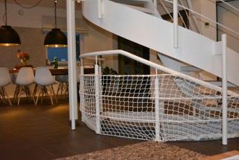 Schutznetz für Treppen/Treppenhäuser per m² | Schutznetze24